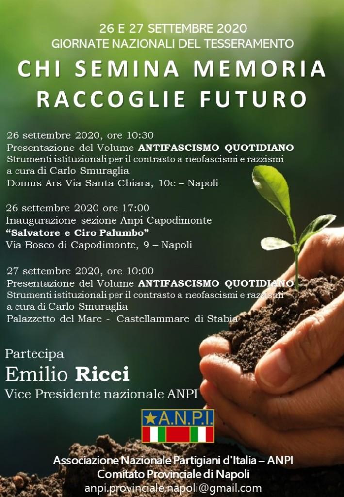 Giornate del tesseramento 26_27_ settembre_2020_Napoli